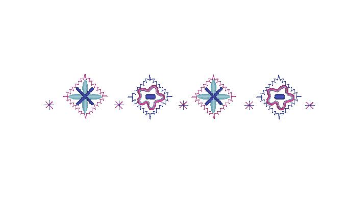 菱形花边-花纹-绣道-powered